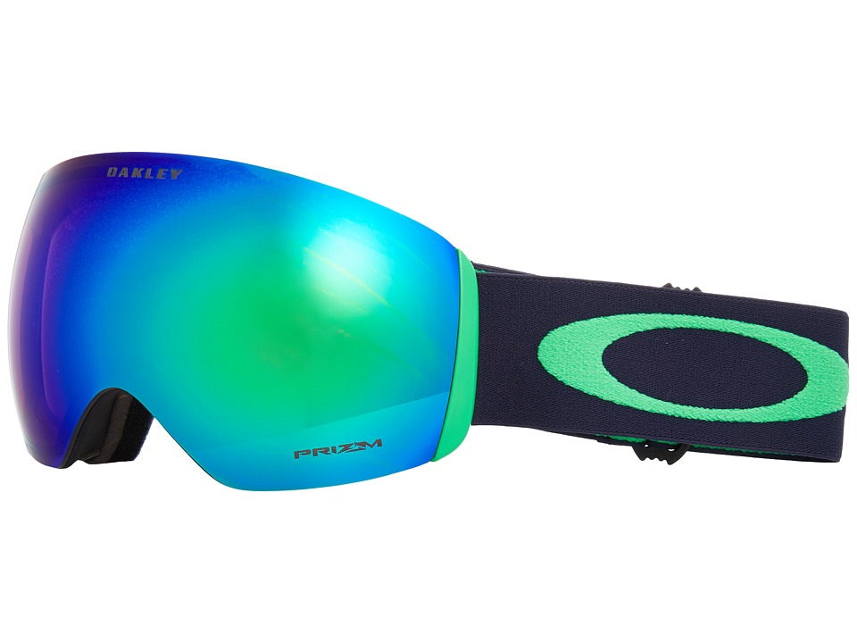 Oakley Flight Deck (Fathom Navy w/ Prizm Jade Iridium) Snow Goggles