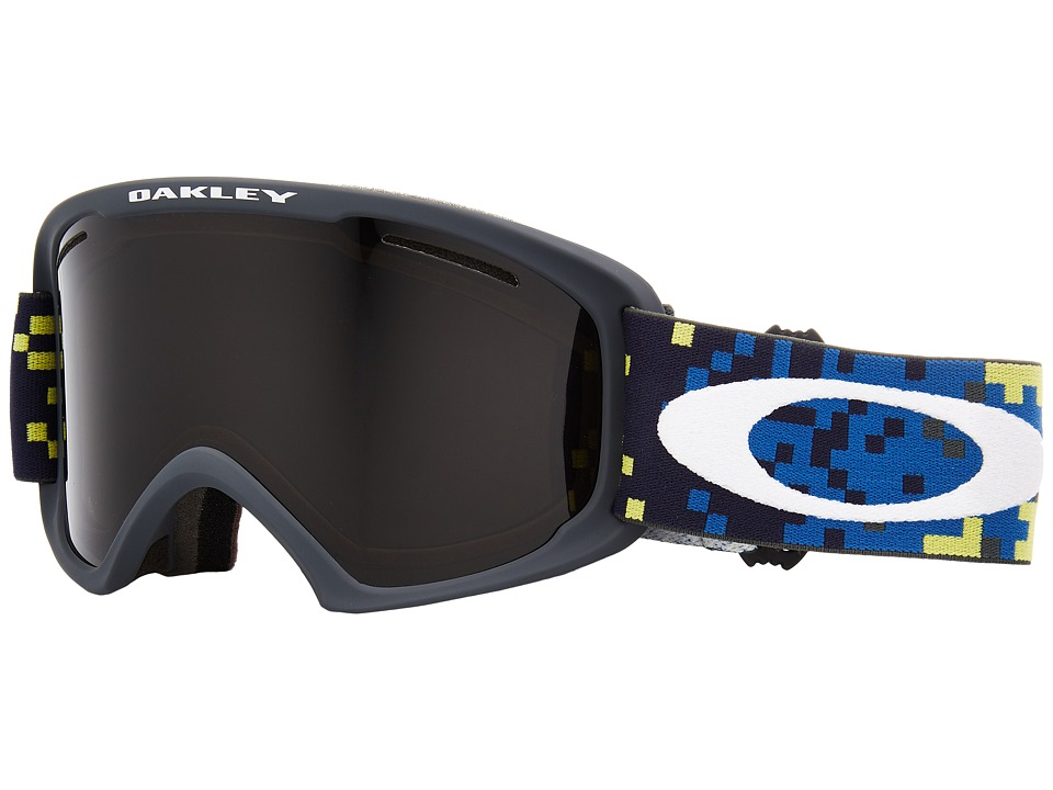 Oakley O Frame 2.0 XL (Pixel Fade Iron Laser w/ Dark Grey) Goggles