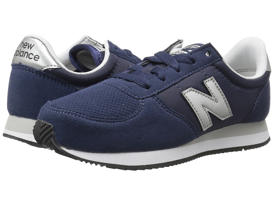 New Balance Kids KL220v1Y (Little Kid/Big Kid) (Navy/Silver) Boys Shoes