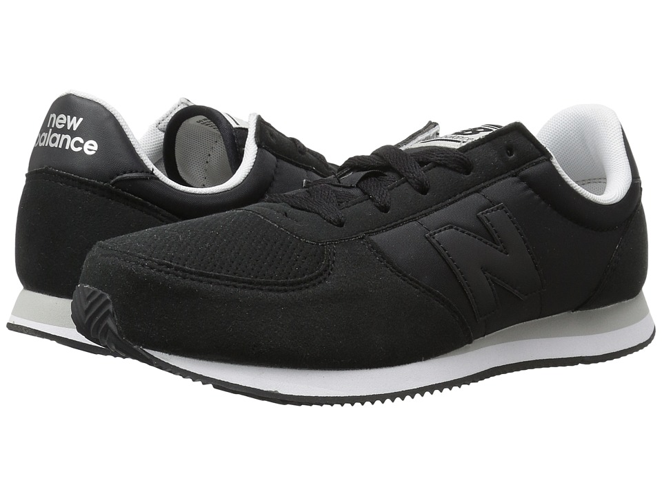 New Balance Kids KL220v1Y (Little Kid/Big Kid) (Black/Black) Boys Shoes