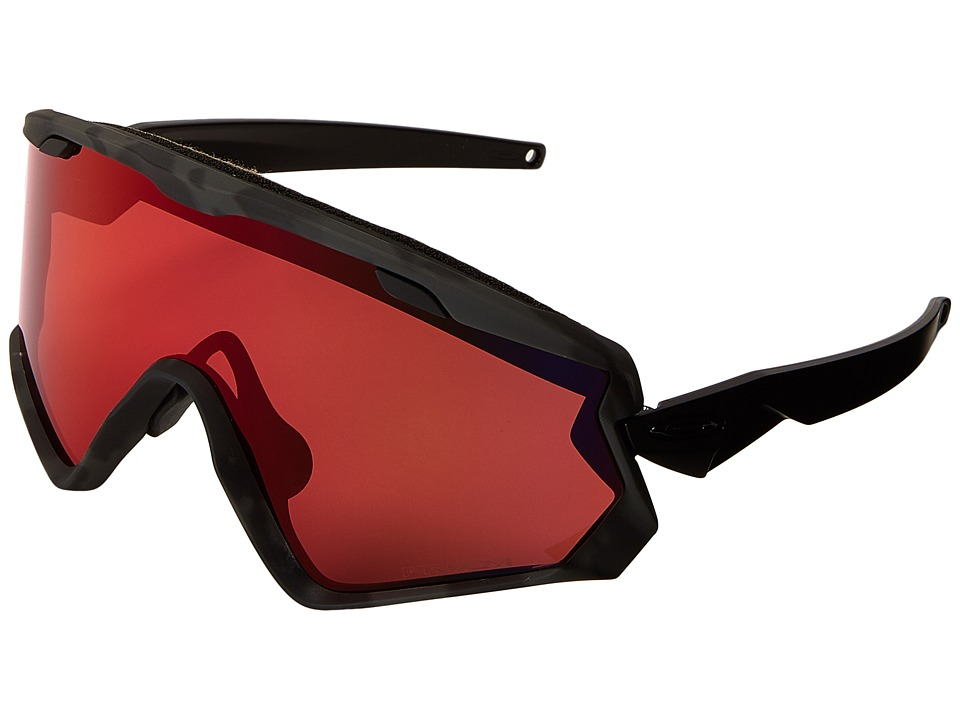 Oakley - Wind Jacket 2.0 (Night Camo w/ Prizm Torch Iridium) Goggles
