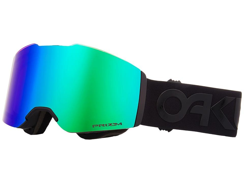 Oakley Fall Line (Factory Pilot Blackout w/ Prizm Jade Iridium) Goggles