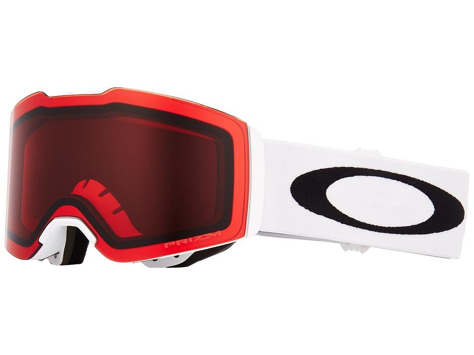 Oakley Fall Line (Matte White w/ Prizm Rose) Goggles