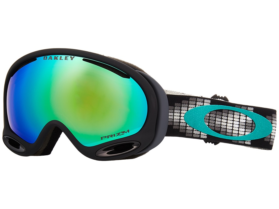 Oakley A-Frame 2.0 (Digi Snake Iron Grey w/ Prizm Jade Iridium) Goggles