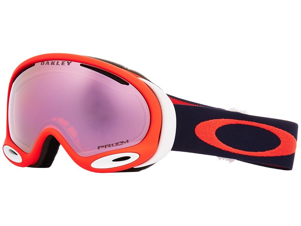 Oakley A-Frame 2.0 (Coral Fathom w/ Prizm High Intensity Pink Iridium) Goggles