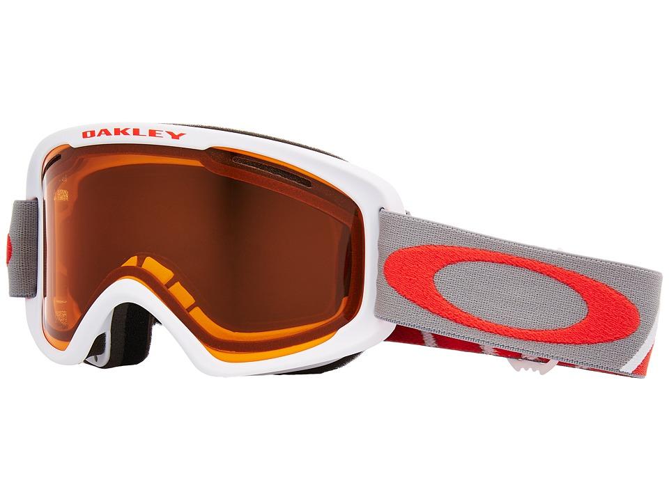 Oakley O Frame 2.0 XM (Basket Case Iron Coral w/ Persimmon) Goggles