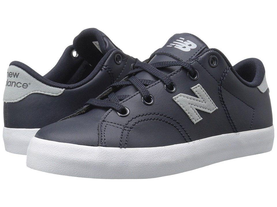 New Balance Kids KLCRTv1Y (Little Kid/Big Kid) (Grey/White) Kids Shoes