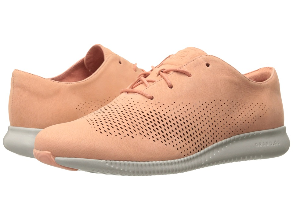 Cole Haan 2.0 Grand Laser Wing Oxford (Nectar Nubuck/Vapor Grey) Women