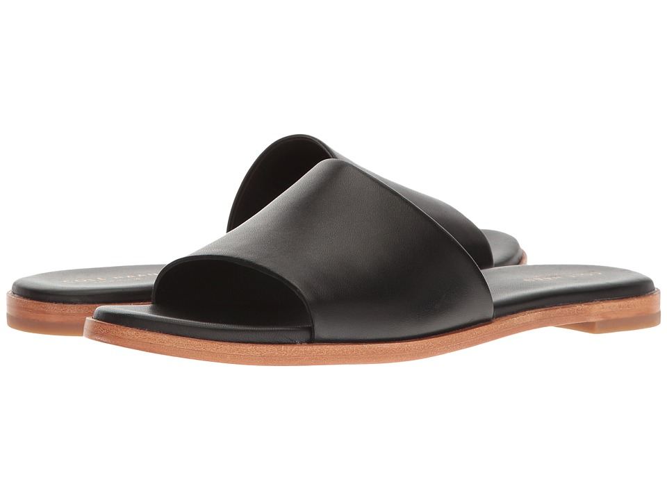 Cole Haan Anica Slide Sandal (Black) Women