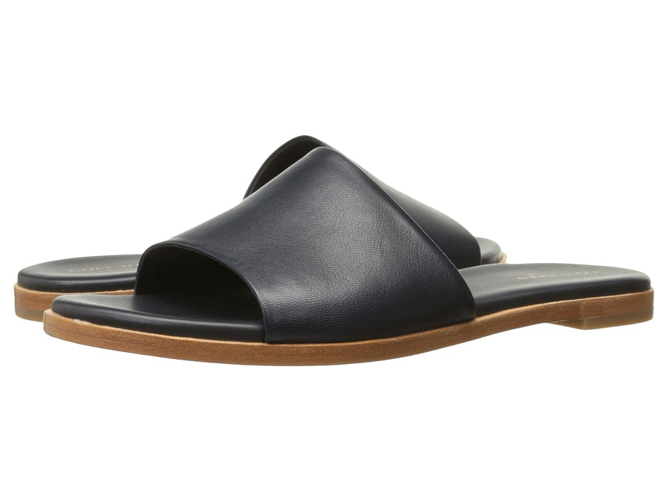 Cole Haan Anica Slide Sandal (Navy Ink) Women