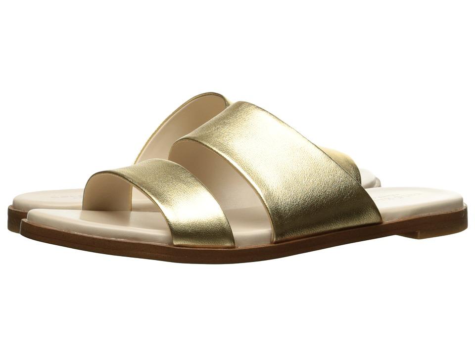Cole Haan Anica Sandal (Gold Metallic) Women