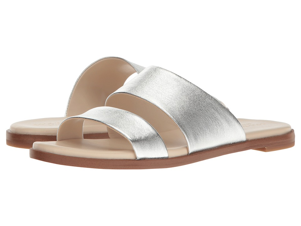 Cole Haan Anica Sandal (Silver Metallic) Women