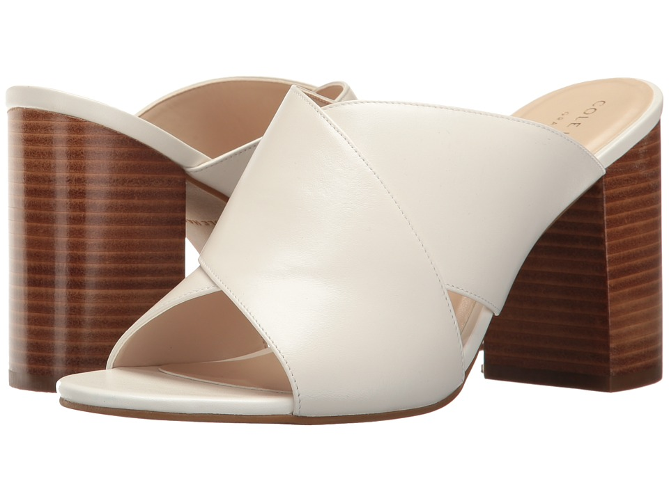 Cole Haan Gabby Sandal (Optic White Leather) Women