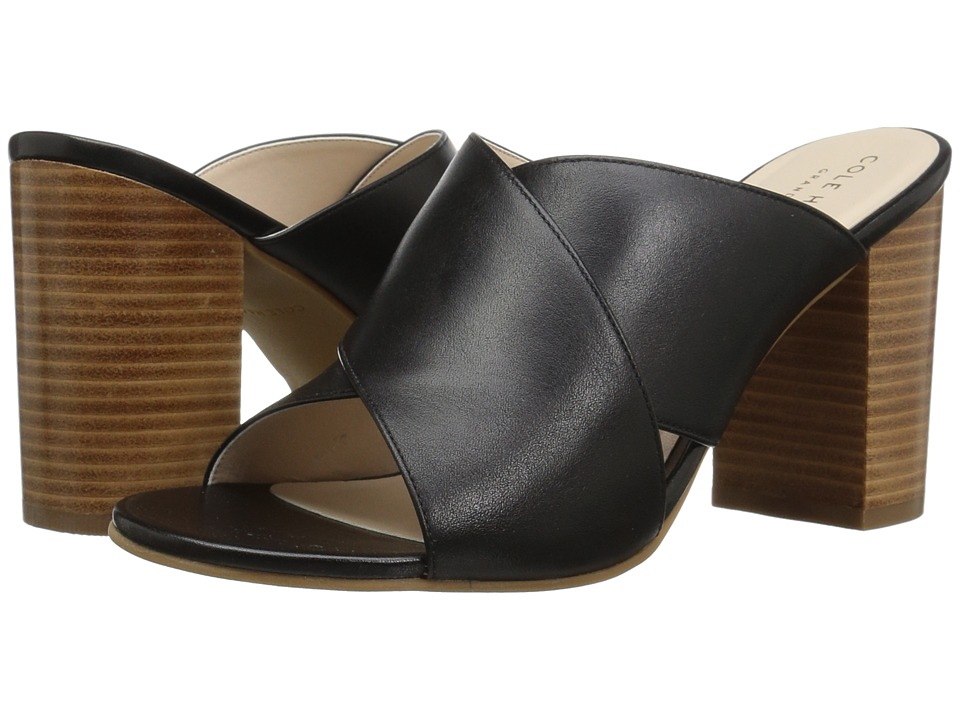 Cole Haan Gabby Sandal (Black Leather) Women