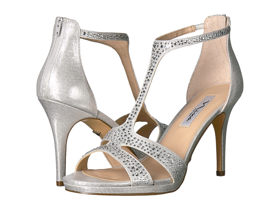 Nina-Brietta  (True Silver) High Heels