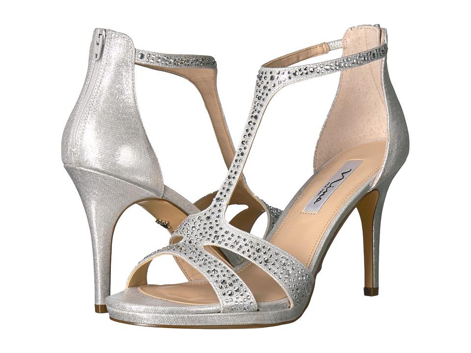 Nina Brietta (True Silver) High Heels