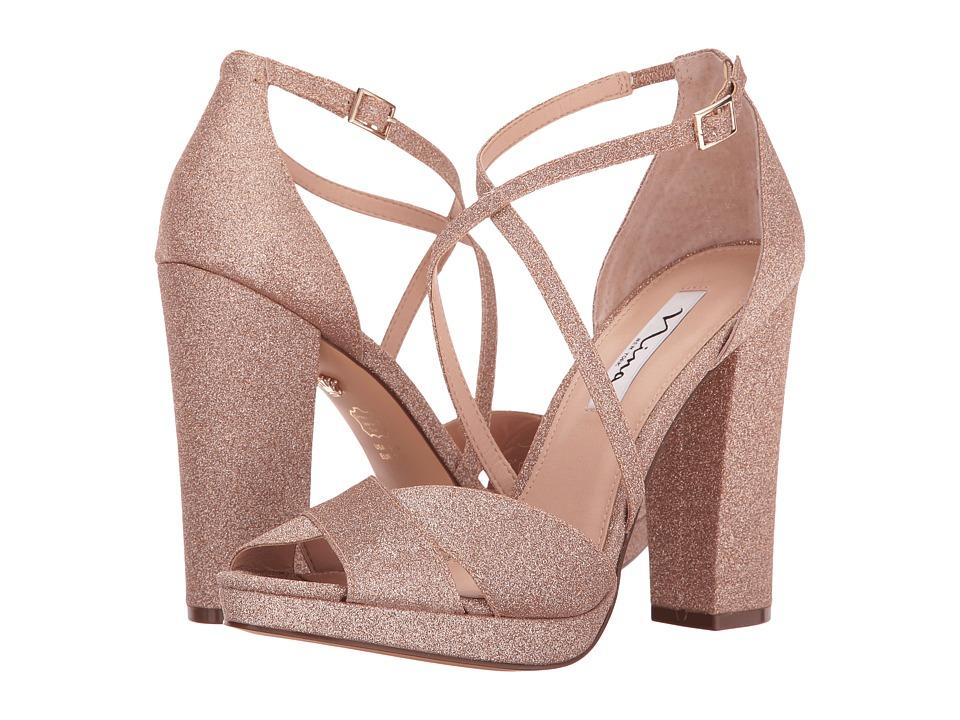 Nina Marylyn (Platino) High Heels