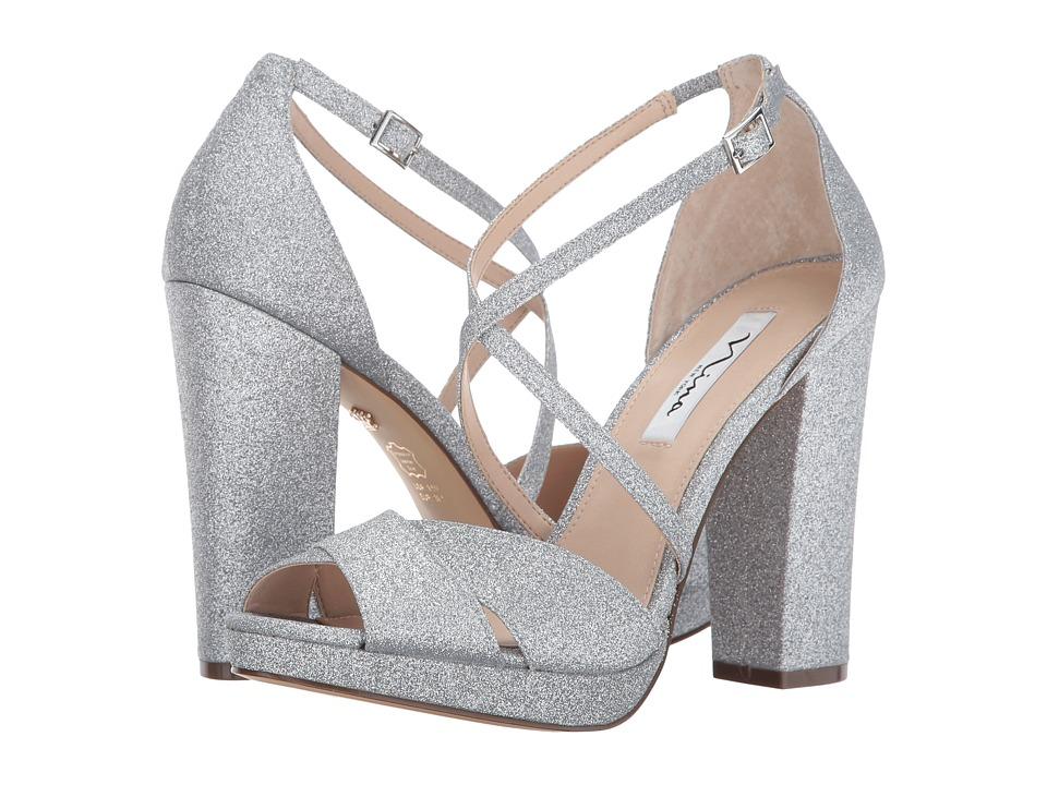 Nina Marylyn (Silver) High Heels