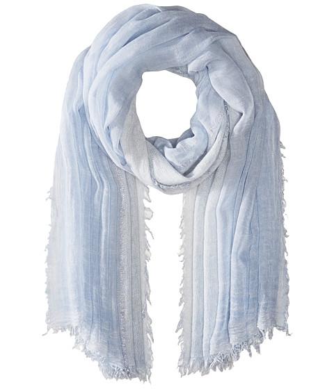 LAUREN Ralph Lauren Tessa Modal & Wool Blended Scarf - Cloud Blue