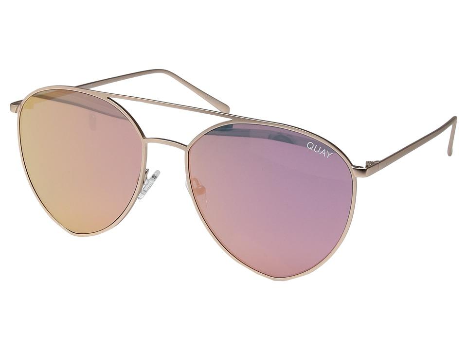 QUAY AUSTRALIA - Indio (Gold/Pink) Fashion Sunglasses