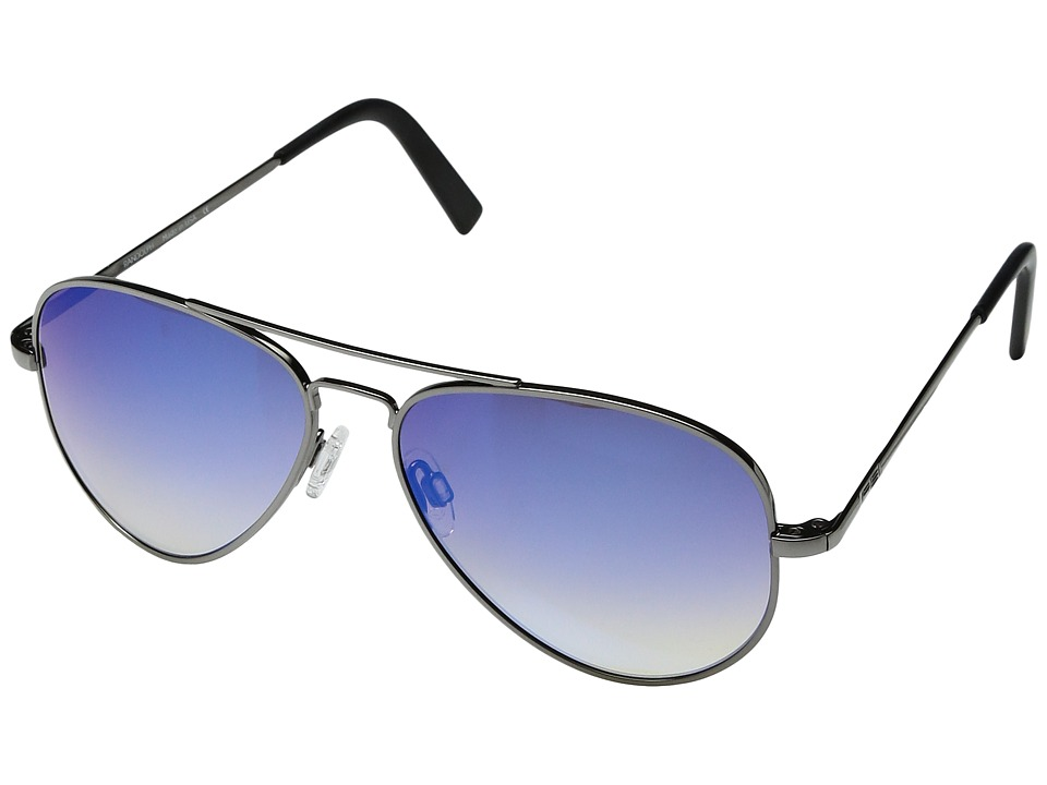 Randolph - Concorde 57mm (Gunmetal/Oasis Metallic Nylon Anti Reflective Lens) Fashion Sunglasses
