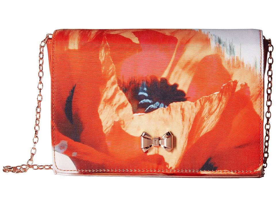 Ted Baker Poppei (Mid Red) Clutch Handbags