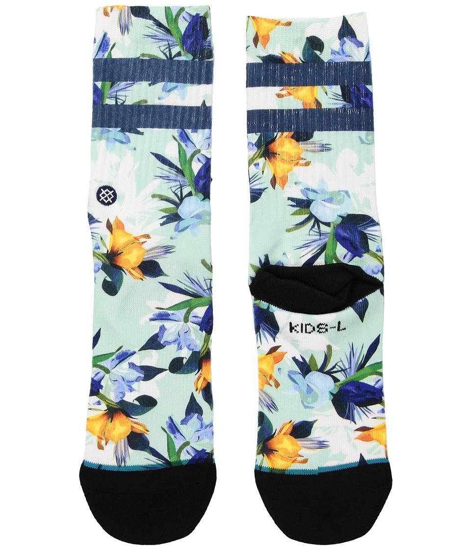 Stance - Wipeout (Little Kid/Big Kid) (Blue) Men's Crew Cut Socks Shoes