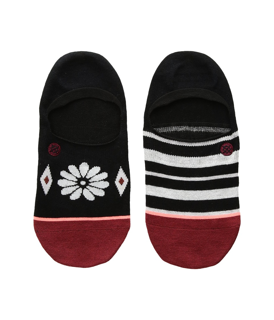 Stance Daisy Mae (Toddler/Little Kid/Big Kid) (Black) Women's Crew Cut Socks Shoes
