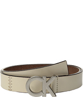 Calvin Klein - 30mm Flat Strap w/ Seams & Lacing