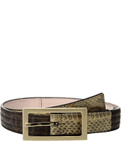 Calvin Klein - 25mm Trapunto Strap w/ Flat Tabs