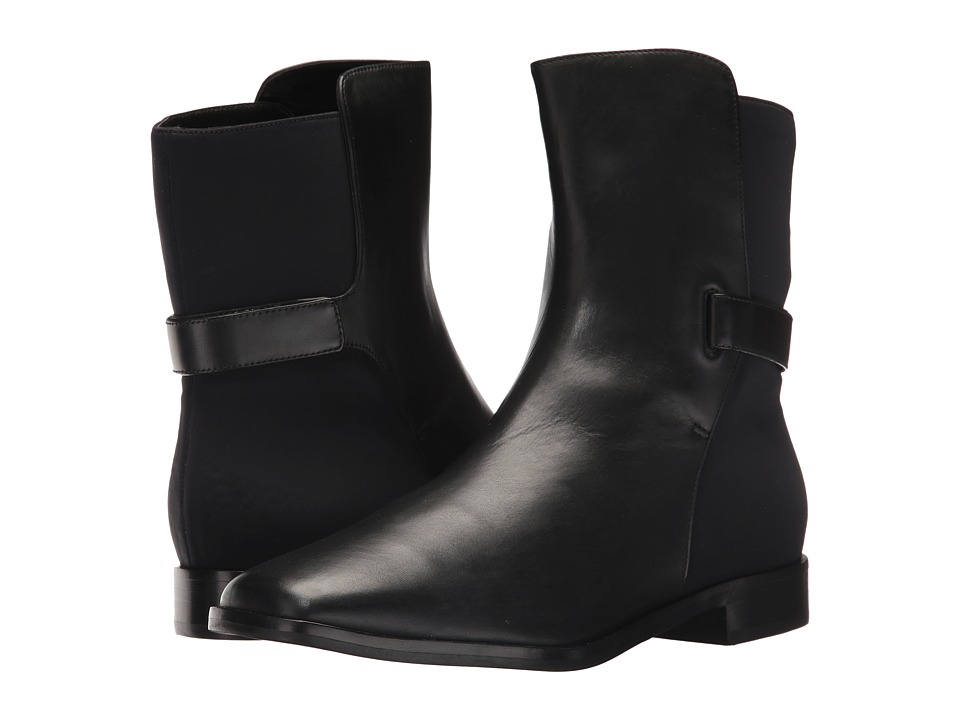 Via Spiga Vaughan (Black Soft Barcellona/Neoprene Selva) Women