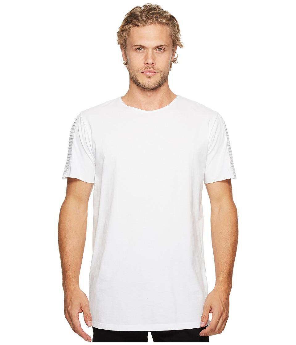 nANA jUDY - Drift T-Shirt with Moto Biker Sleeve and Zippers At Side Seam