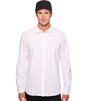 nANA jUDY - Whitehall Cotton Long Sleeve Shirt with N Branded Chest Logo