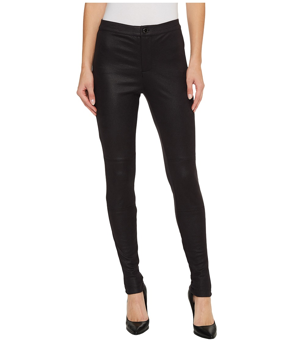 Hale Bob - Natural Charm Coated Stretch Ultra Suede Leggings