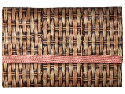 Harveys Seatbelt Bag Snap Wallet - Wicker