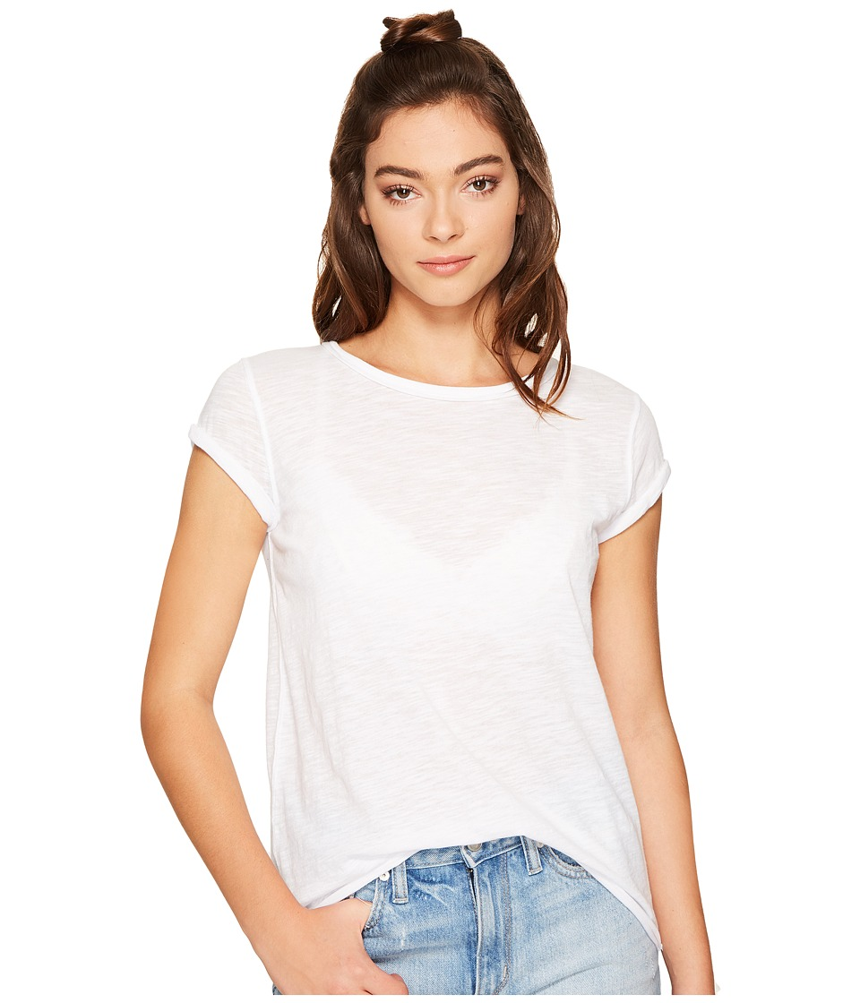 Free People Clare Tee (White) Women