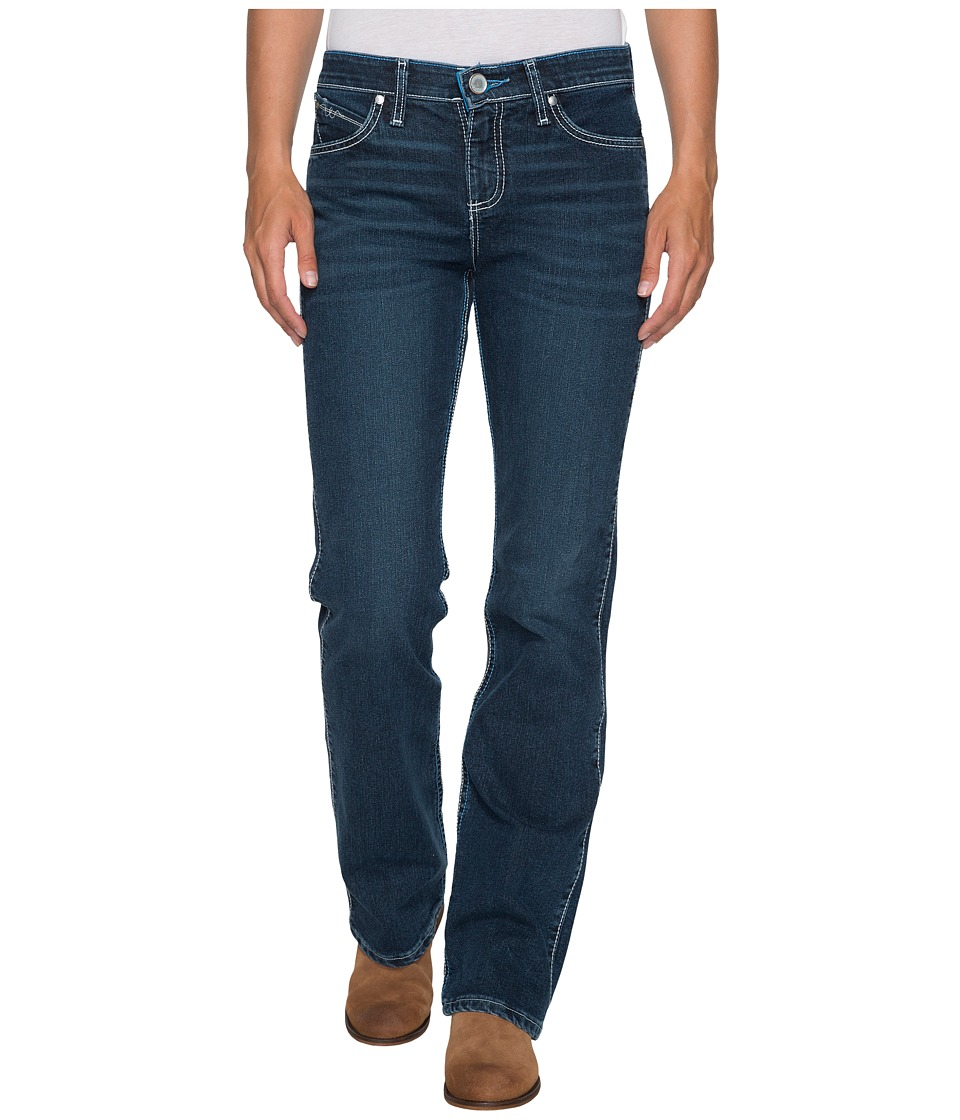 Wrangler - Cool Vantage Q-Baby Jeans (Medium Blue) Women's Jeans