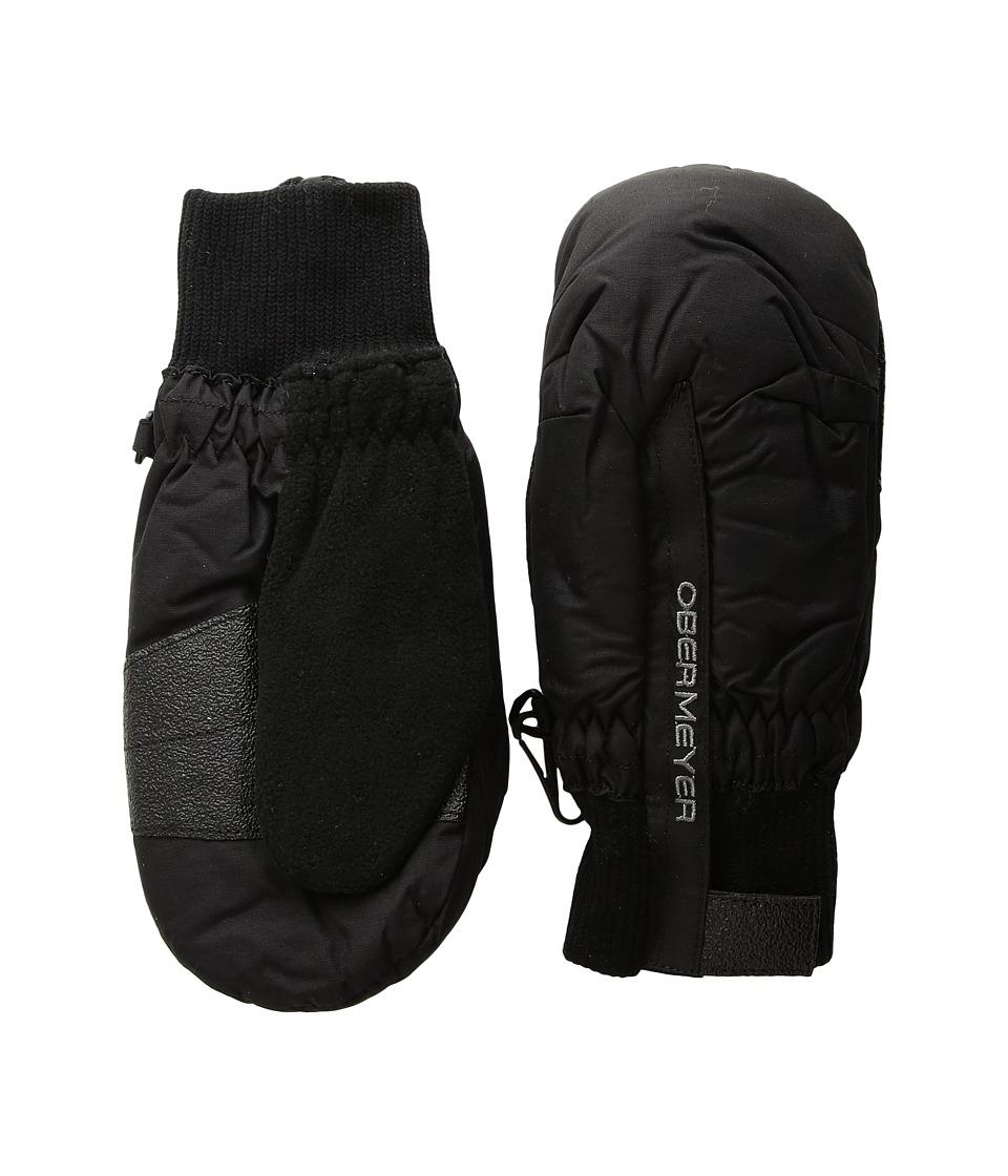 Obermeyer Kids Thumbs Up Mitten (Little Kids) (Black) Ski Gloves