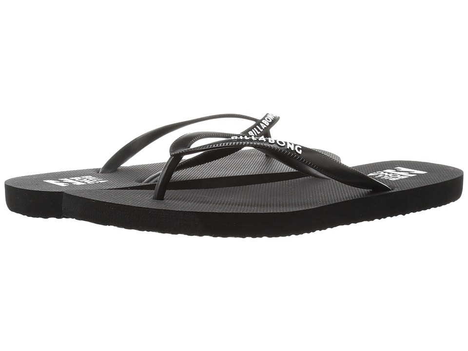 Billabong - Dama (Black/White Print) Women's Sandals