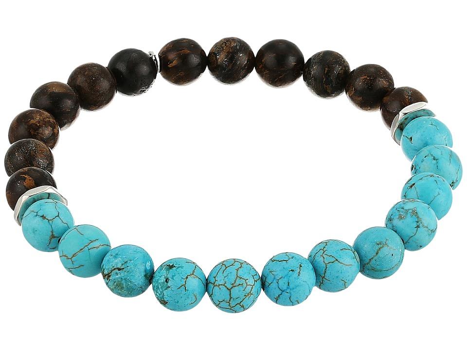 Chan Luu - 7 1/2 Stretch Bracelet with Semi Precious Stones