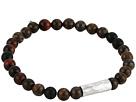 Sterling Silver Stretch Bracelet w/ Semi Precious Stones