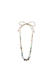 Chan Luu - Adjustable Necklace On Mokuba Cord w/ Large Semi Precious Stones