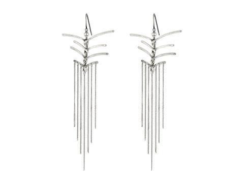 Chan Luu Sterling Silver Earrings Drop Threads - Silver