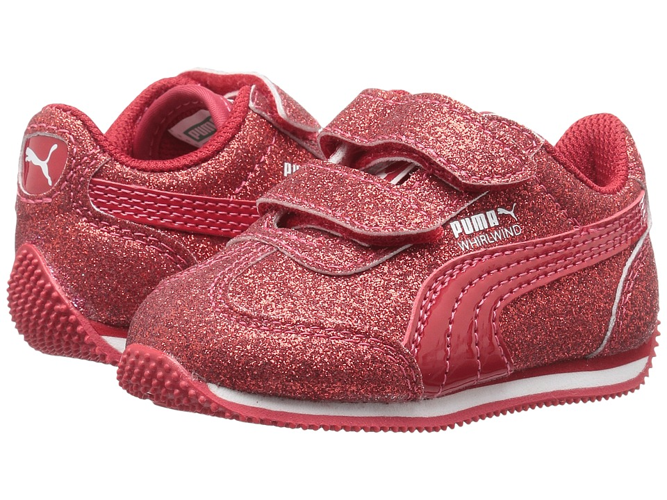 Puma Kids - Whirlwind Glitz V (Toddler) (Toreador/Toreador) Girls Shoes