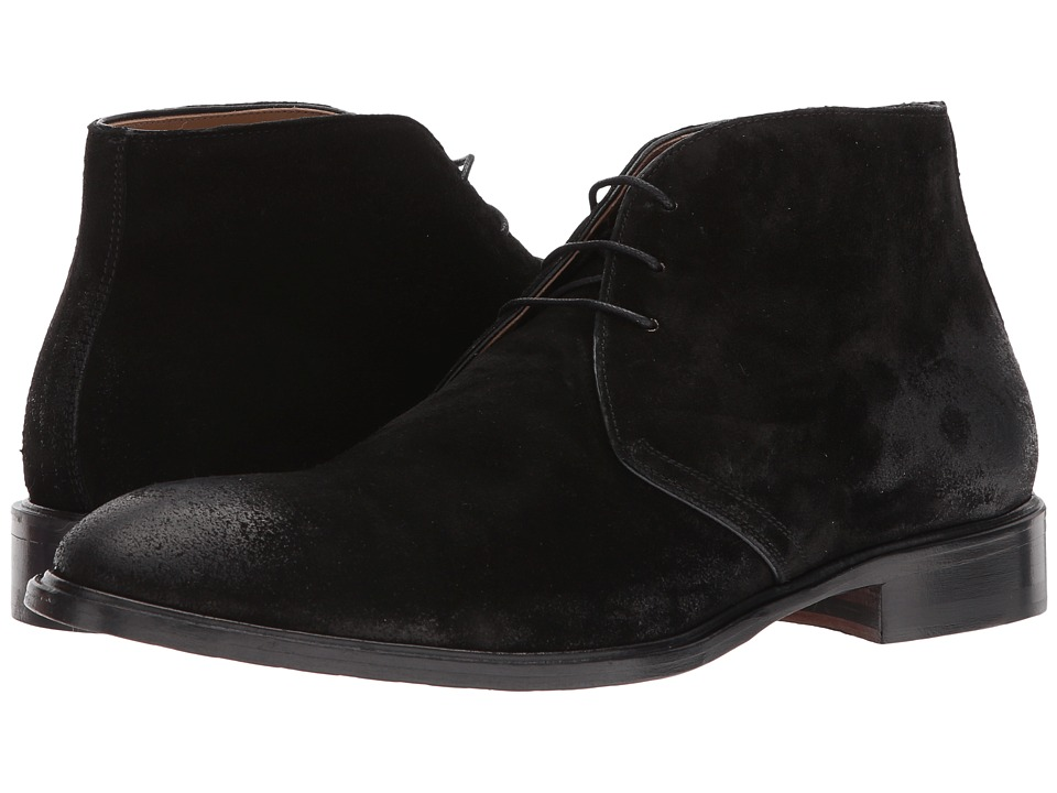 Gordon Rush Jamison (Black Suede) Men