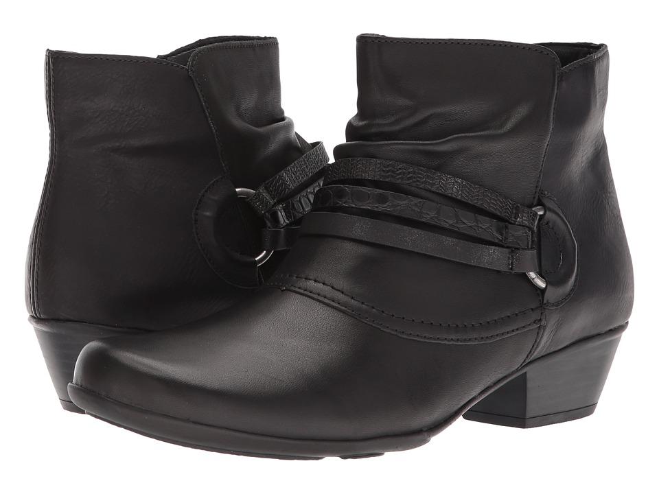 Rieker D7365 Milla 65 (Black/Black/Black) Women