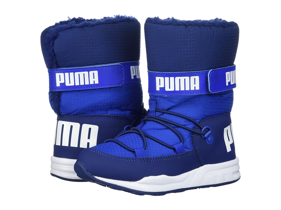 Puma Kids Trinomic Boot (Little Kid/Big Kid) (Lapis Blue/Blue Depths) Boys Shoes