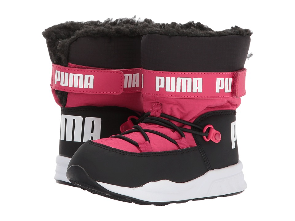 Puma Kids Trinomic Boot (Toddler) (Love Potion/Puma Black) Girls Shoes