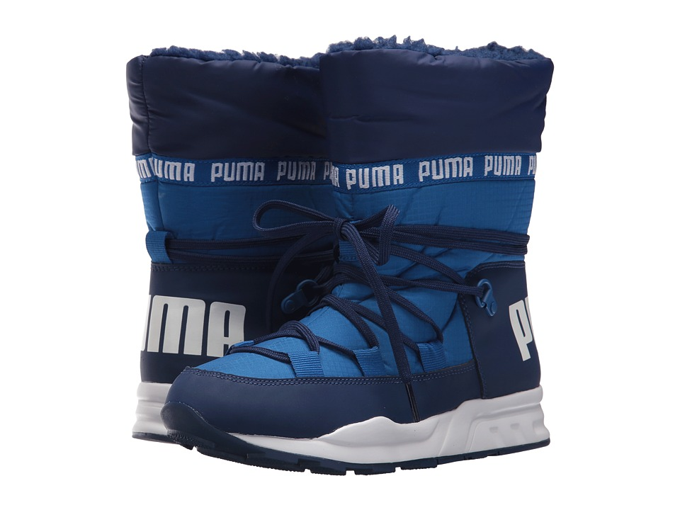 Puma Kids Trinomic Boot (Big Kid) (Lapis Blue/Blue Depths) Boys Shoes