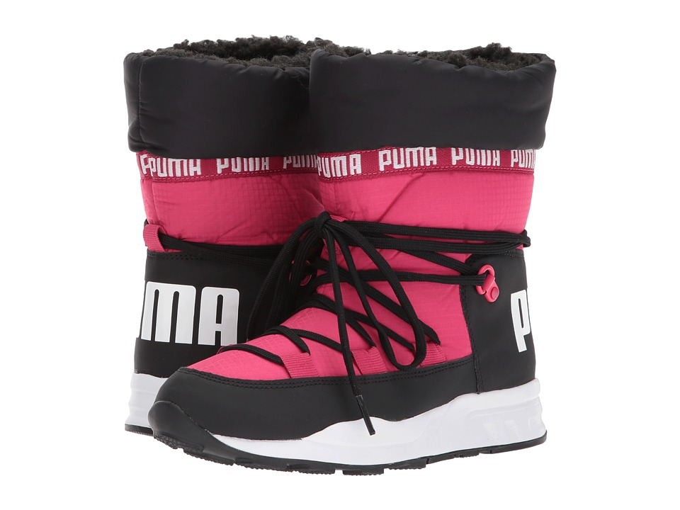 Puma Kids Trinomic Boot (Big Kid) (Love Potion/Puma Black) Girls Shoes